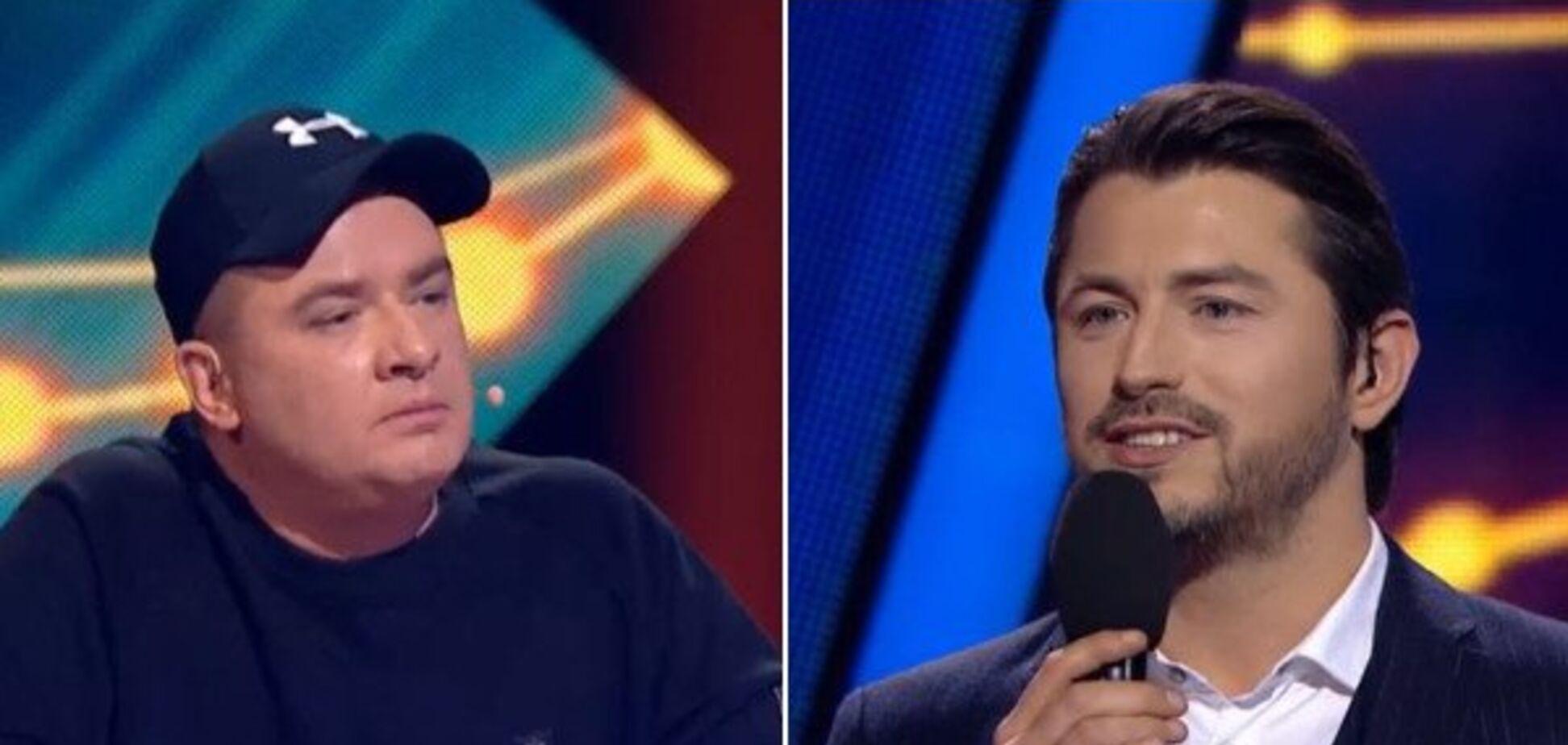 Нацвідбір на Євробачення: Притула та Данилко зчепилися в прямому ефірі. Відео