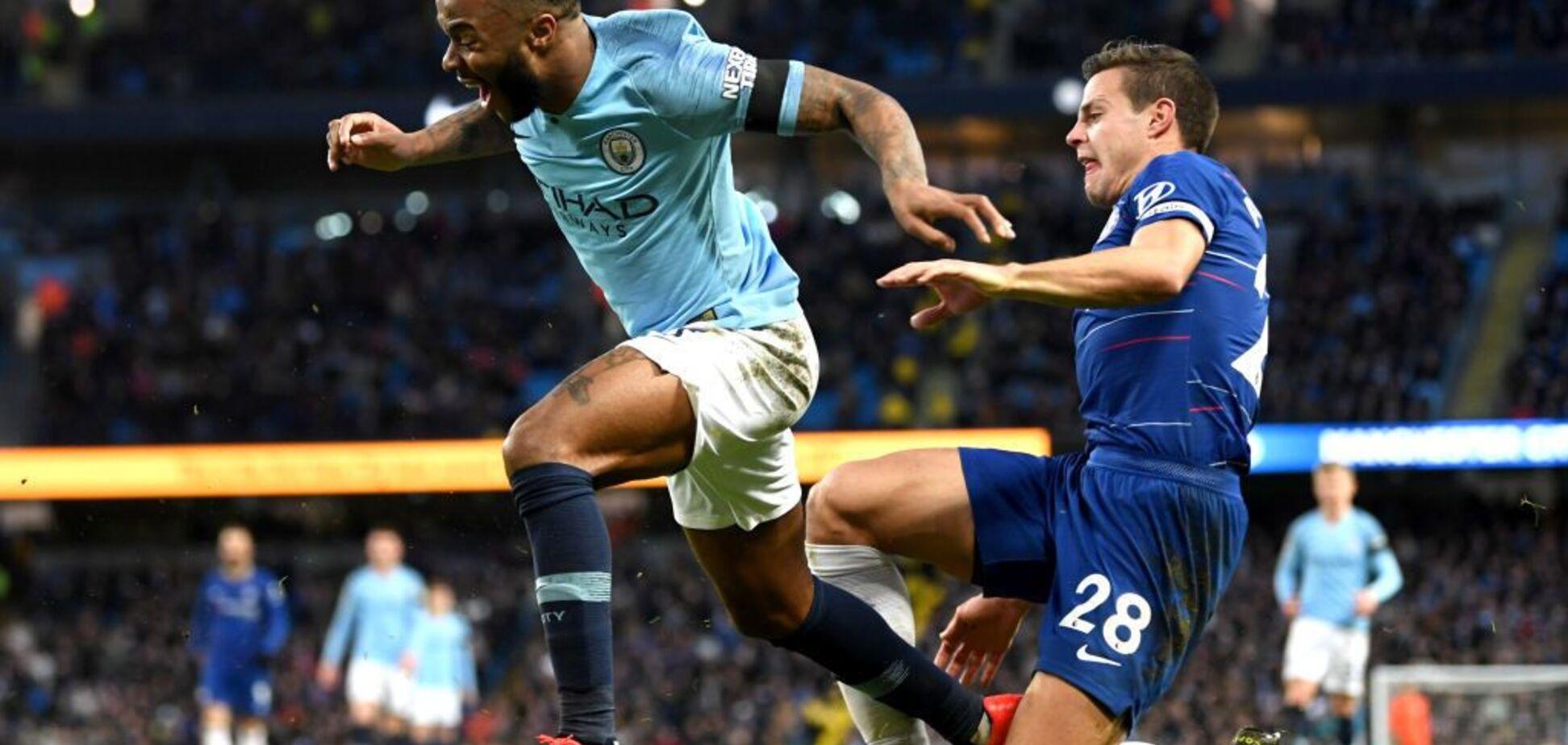 'Манчестер Сити' шокировал 'Челси' в чемпионате Англии - опубликовано видео
