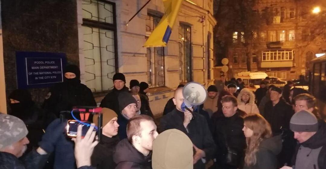 ''Я б*ндеровец!'' В полиции запустили флешмоб после скандального побоища в Киеве