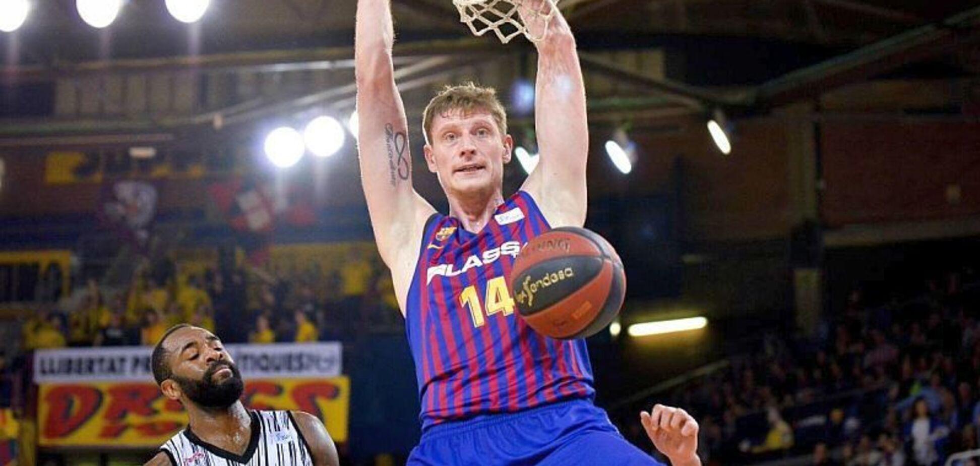 Баскетболист сборной Украины произвел фурор в Испании