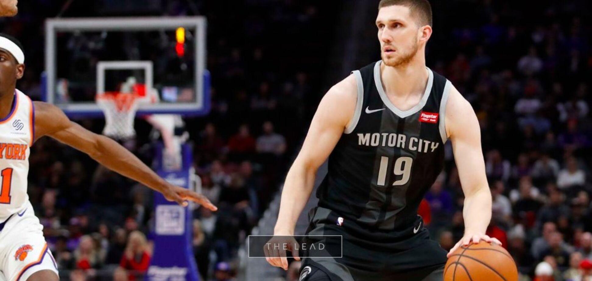 Украинец Михайлюк дал первое интервью после смены клуба в НБА