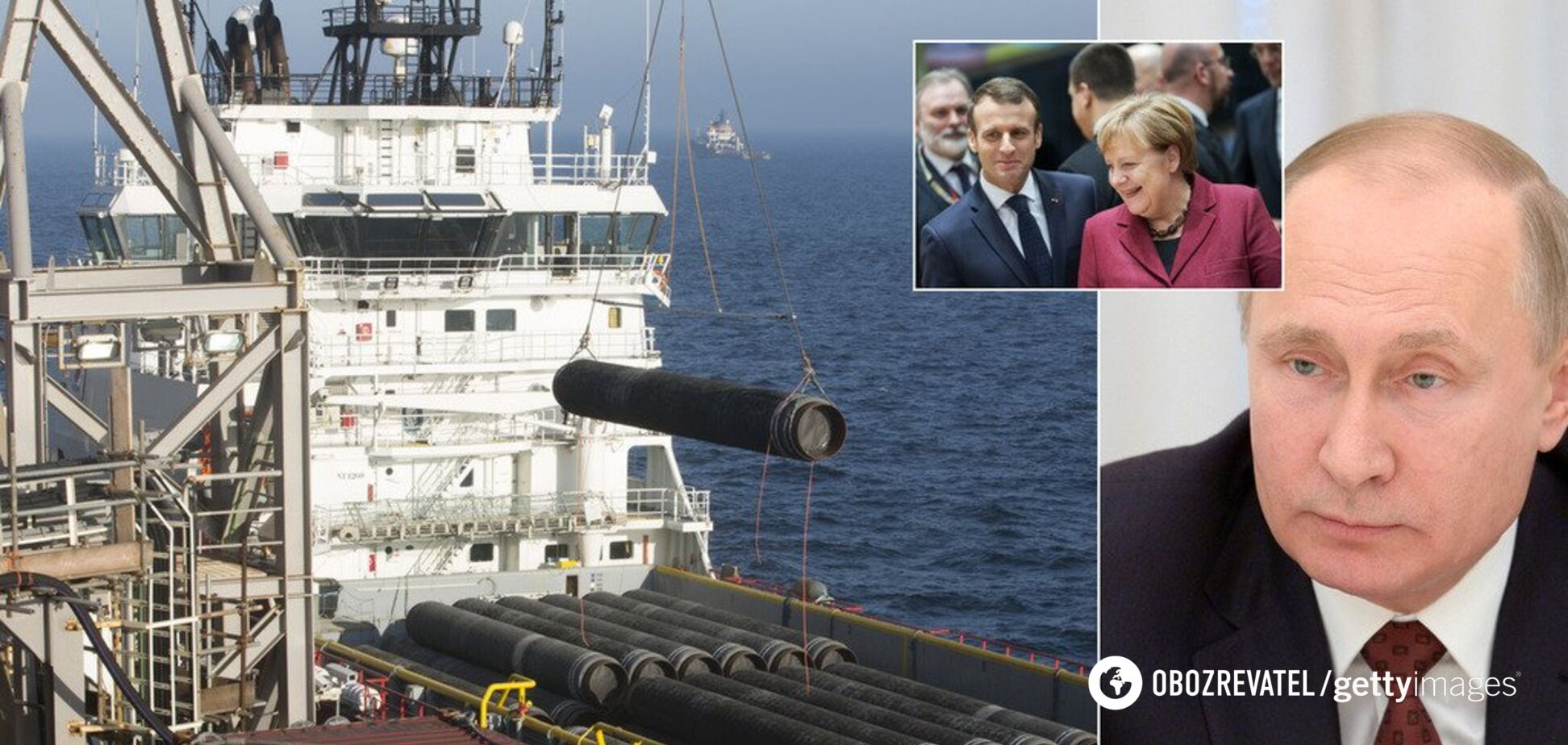 ''Северному потоку-2'' быть: Россию ждут новые санкции, а Украину — огромные убытки