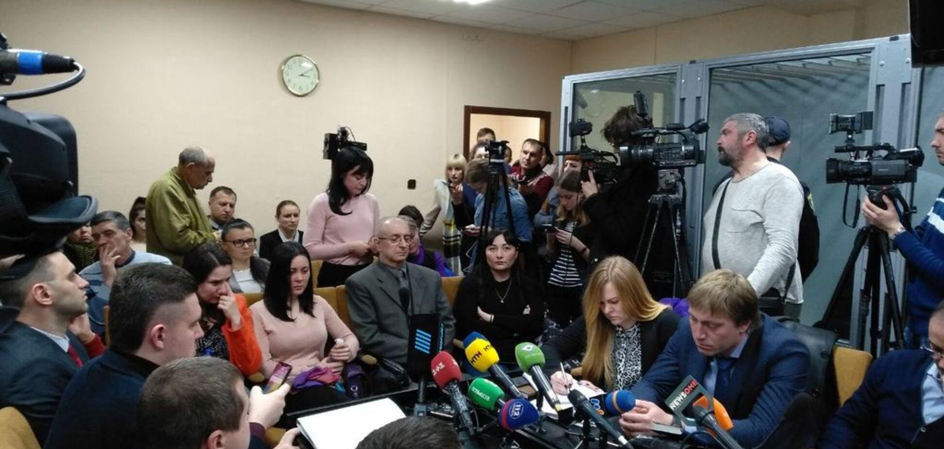 ДТП на Сумській: на суді потерпілі раптово звернулися до матері Зайцевої