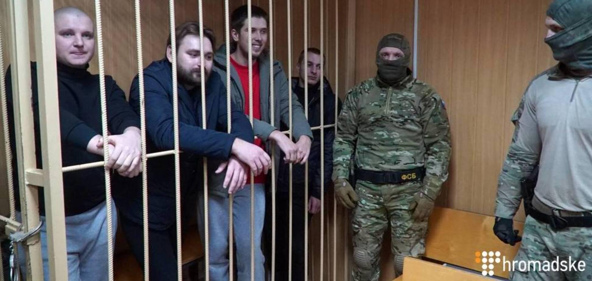 Суд над полоненими українськими моряками в Росії: з'явилися тривожні дані