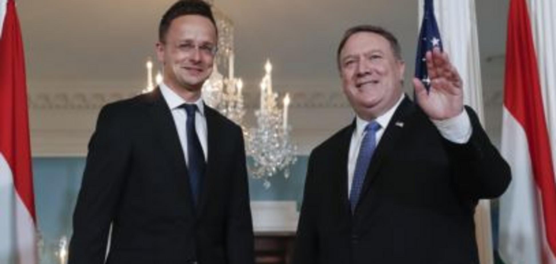 Помпео бачить, чиї вуха стирчать за угорсько-українським конфліктом