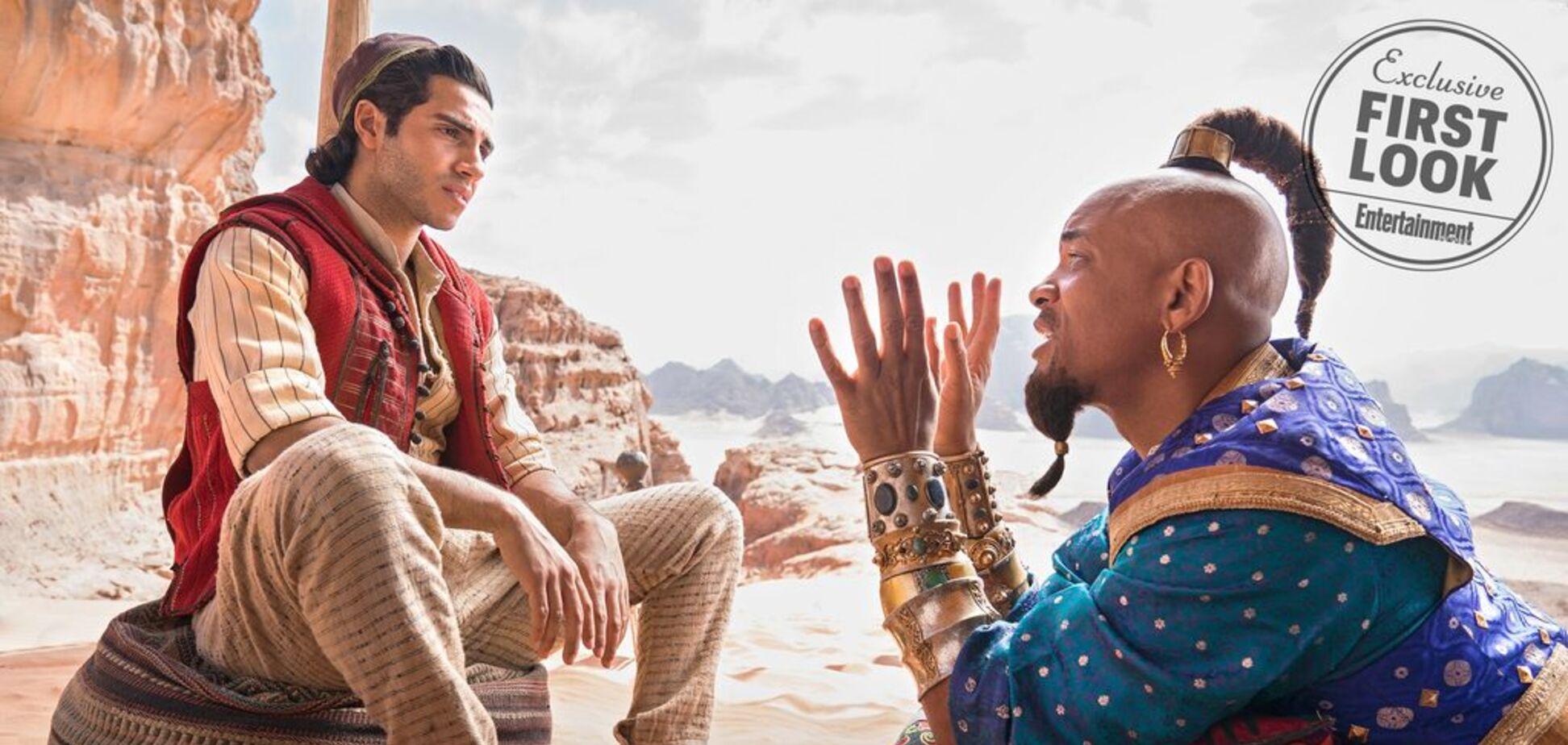 Пользователи YouTube разгромили трейлер ''Аладдина'' от Disney
