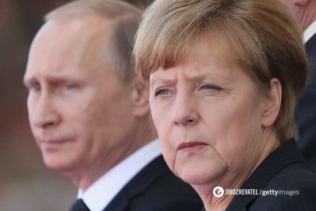 Меркель решительно поддержала газопровод Путина в обход Украины