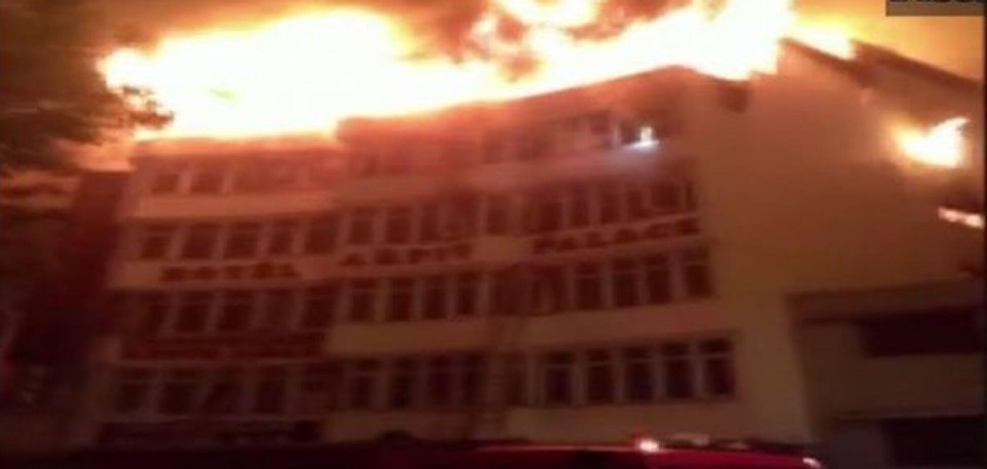 Пожар в Индии. Источник: ANI