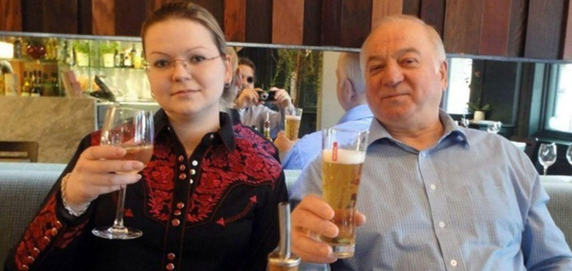 Сергей Скрипаль с дочерью