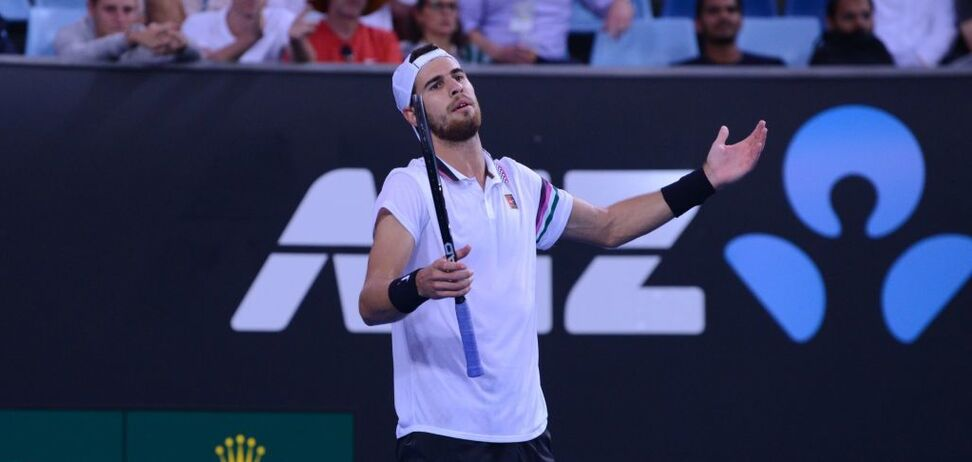 Найкращий тенісист Росії зганьбився в Голландії