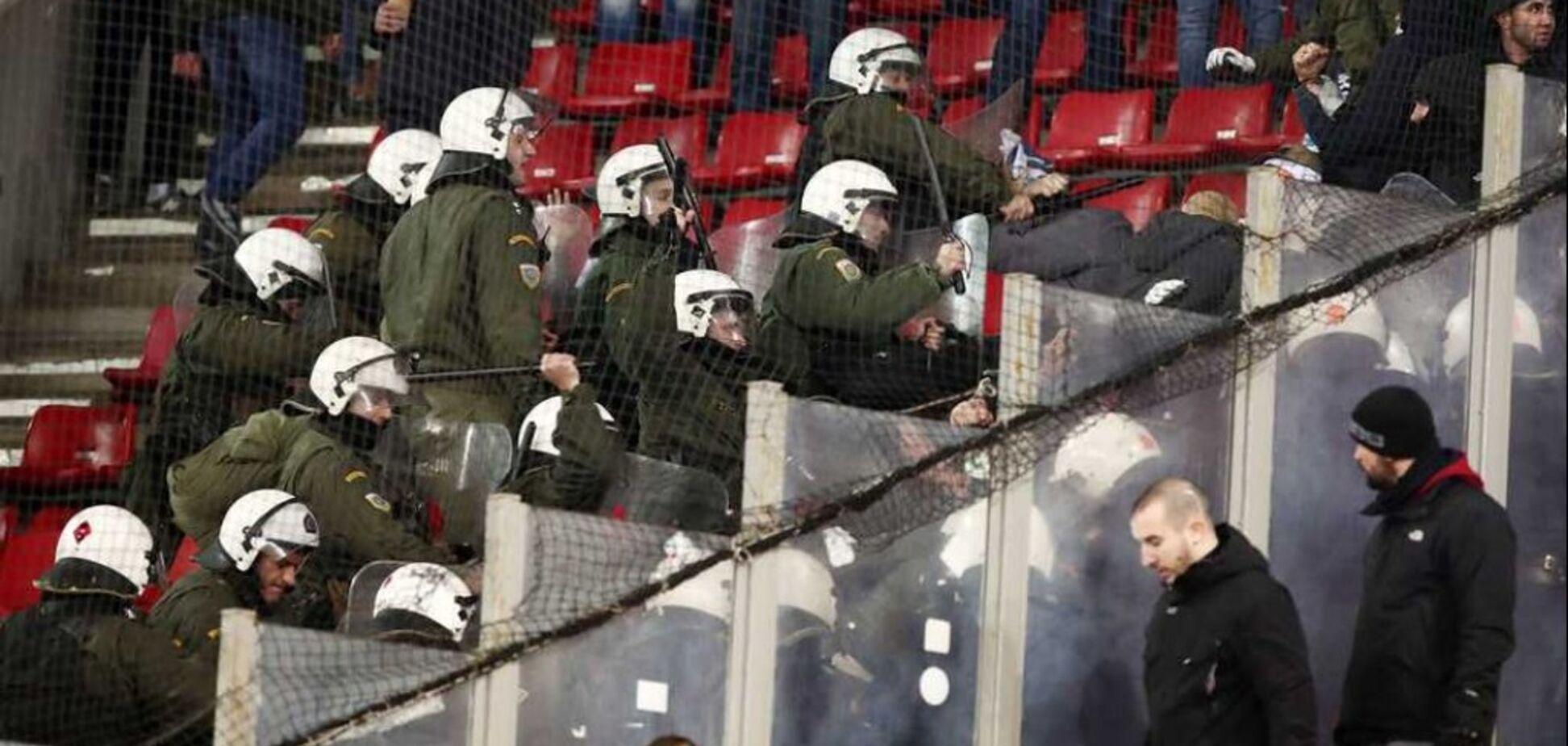 Украинских болельщиков избили перед матчем Лиги Европы