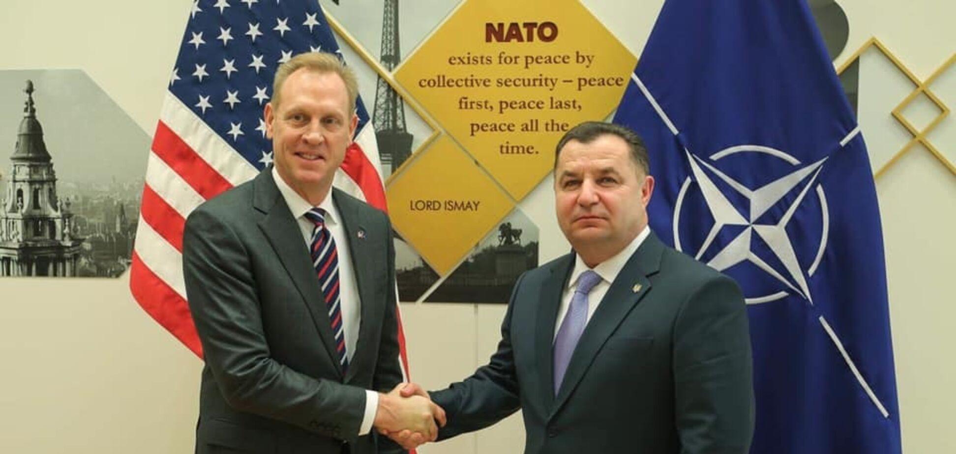Степан Полторак в НАТО