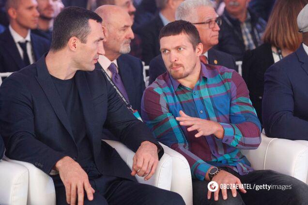 Владимир Кличко и Александр Усик