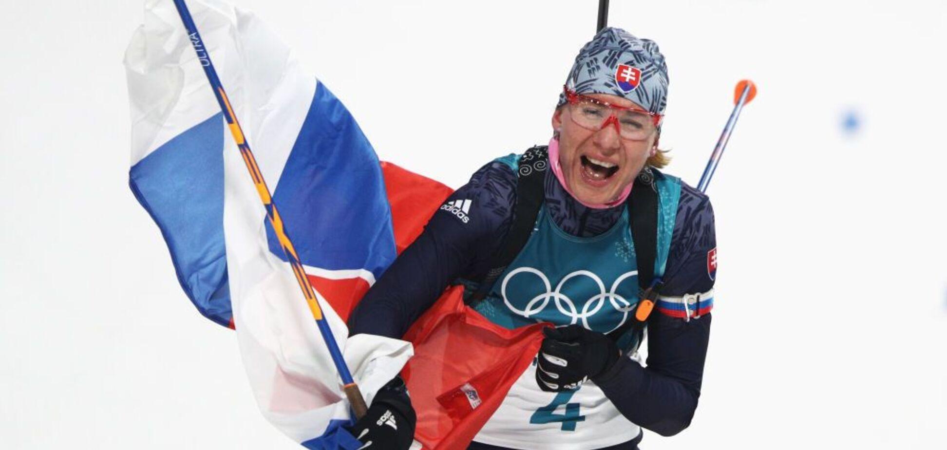 Трехкратная олимпийская чемпионка по биатлону попала в ЧП с самолетом
