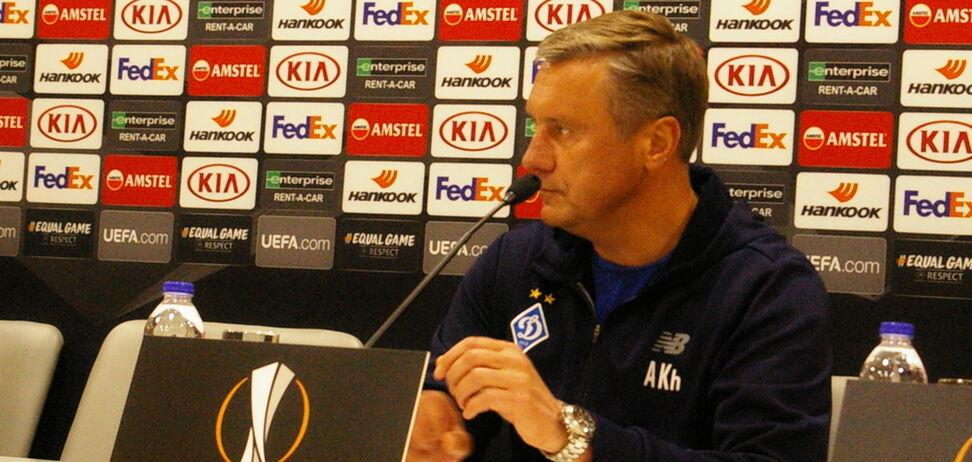 'Не відмовилися від плану': Хацкевич розповів про порятунок 'Динамо' в Лізі Європи