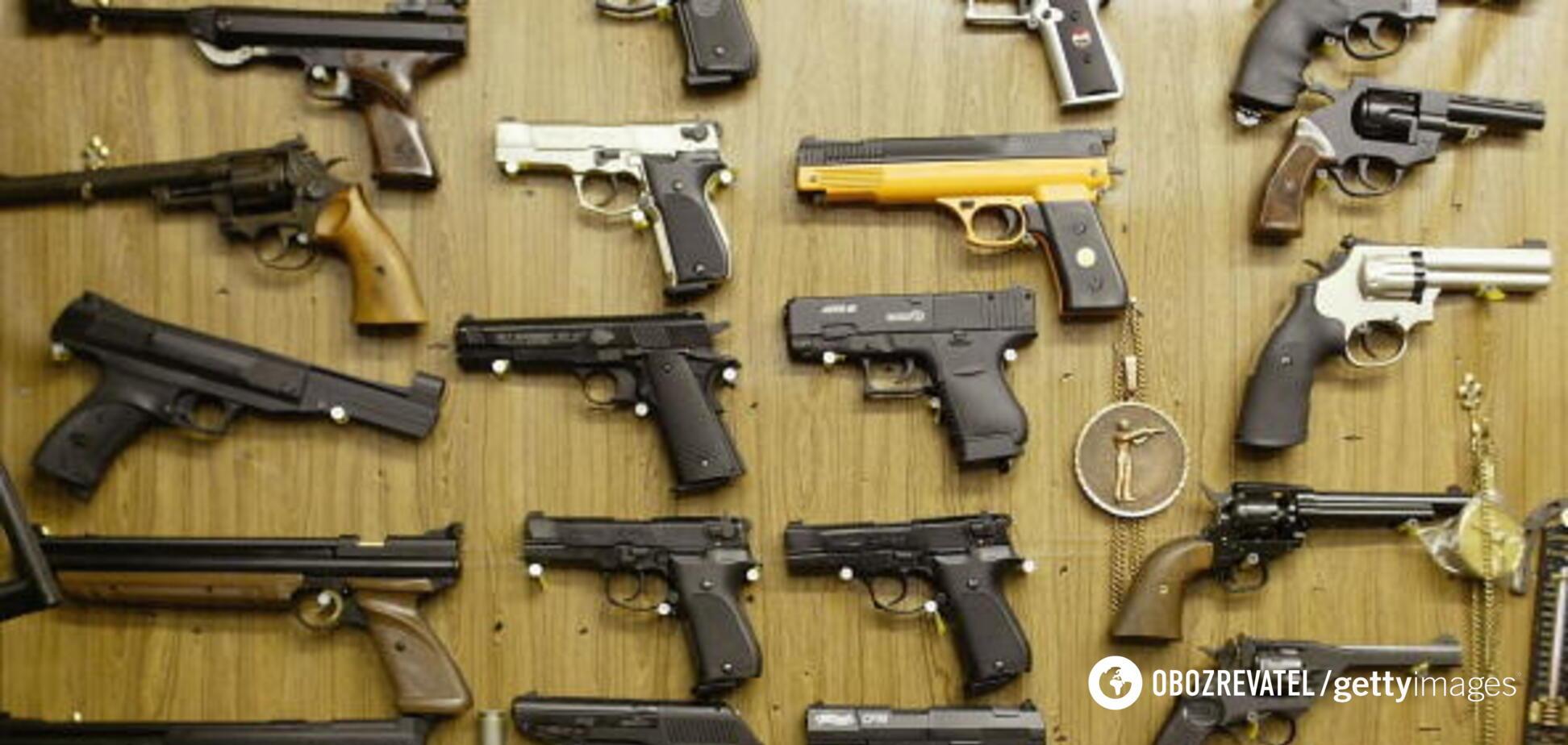 Пять миллионов стволов: Украине предложили решение проблемы нелегального оружия