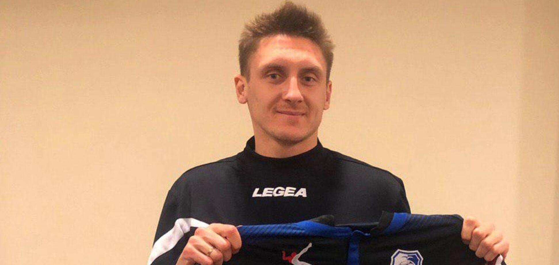 Впервые за 5 лет: клуб украинской Премьер-лиги подписал россиянина