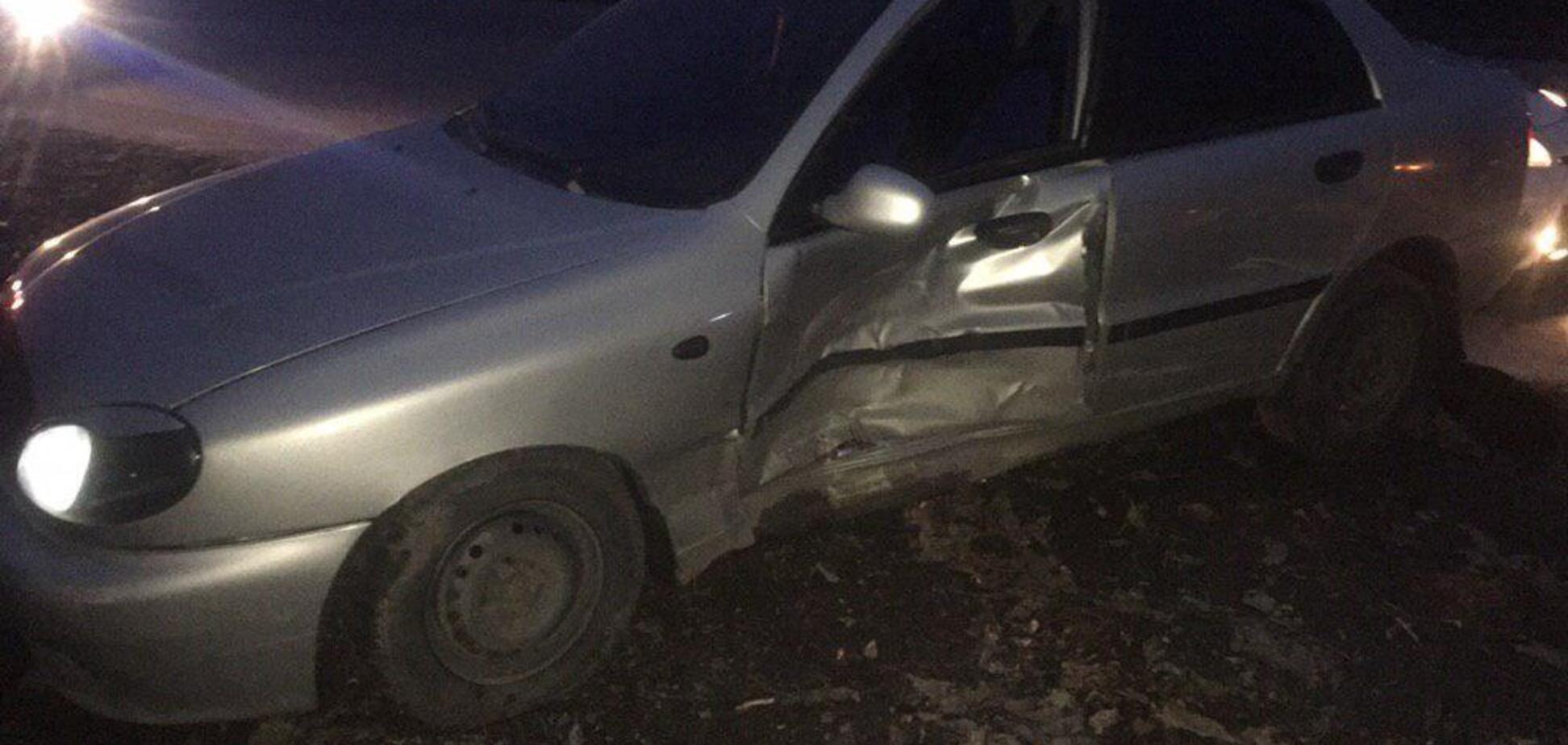 В Запорожье в течение дня на одной улице произошло 2 ДТП