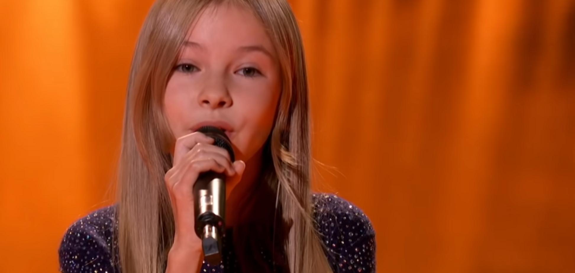 Переможниця ''Голос. Діти-4'' викликала сльози на американському шоу: відео