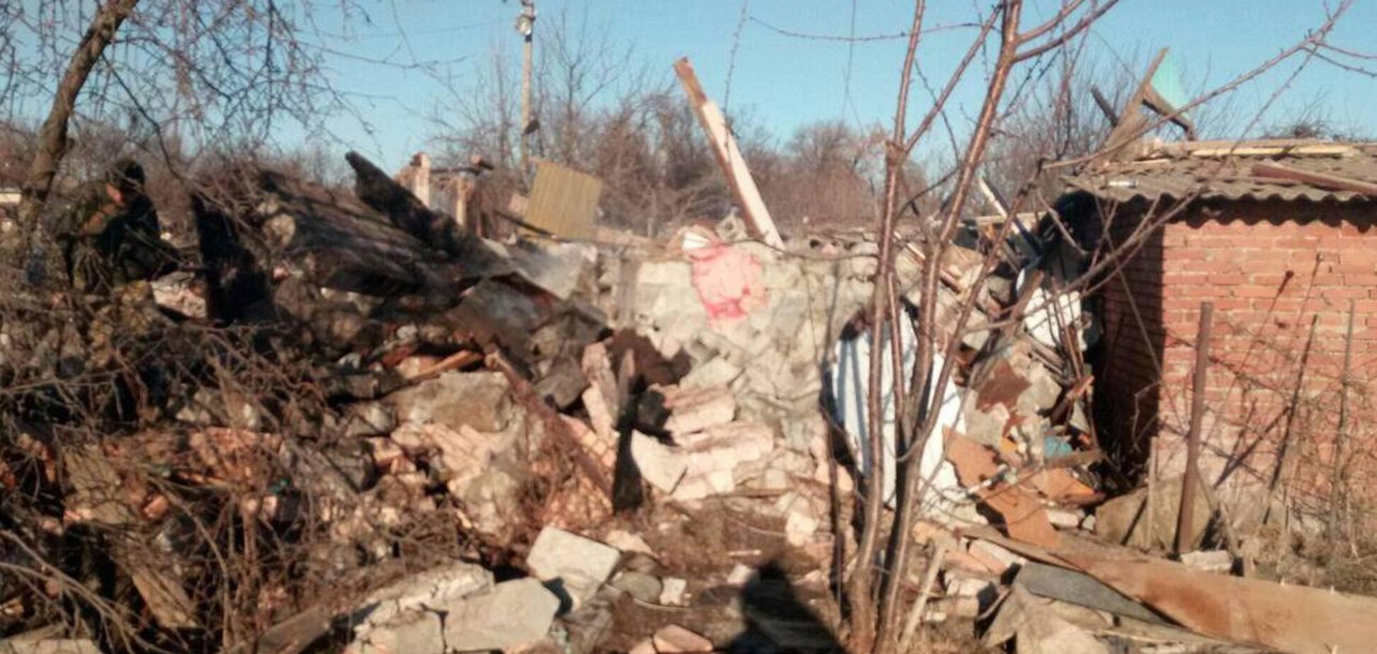 На Донбассе мирных жителей обстреляли российскими снарядами: фото с места событий