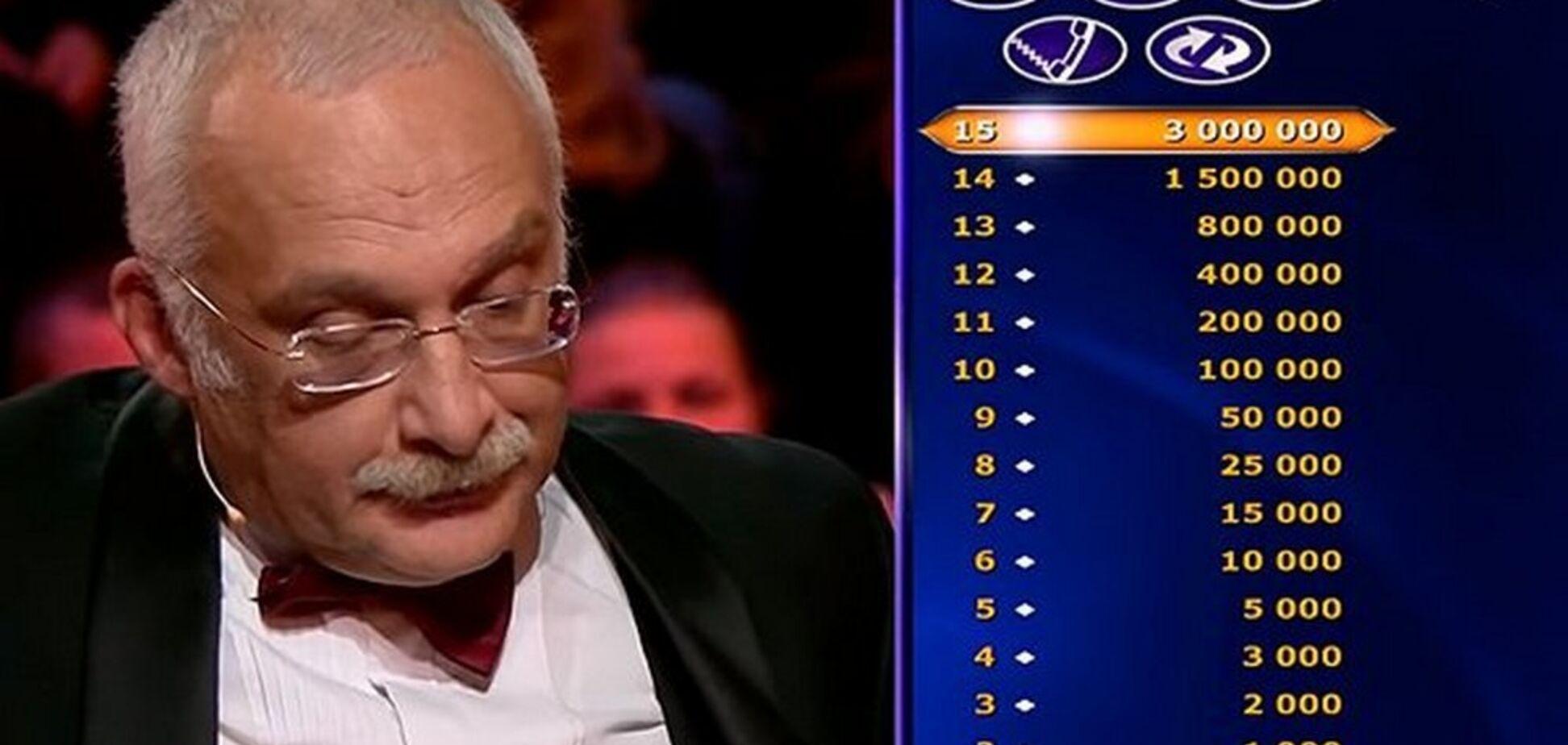 Скандал с Друзем на ''Кто хочет стать миллионером?'': озвучено жесткое решение