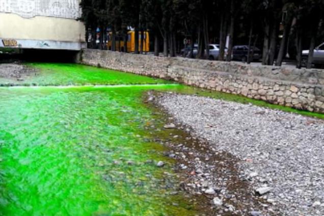 У Криму знову сталася екологічна НП