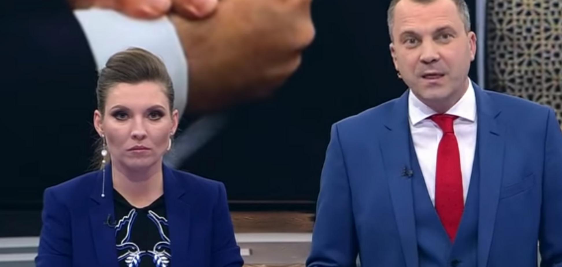 Трусливо промолчал: муж пропагандистки Скабеевой отказался защитить ее честь