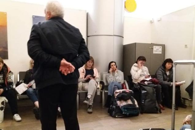 В аэропорту Израиля задержали 140 украинцев