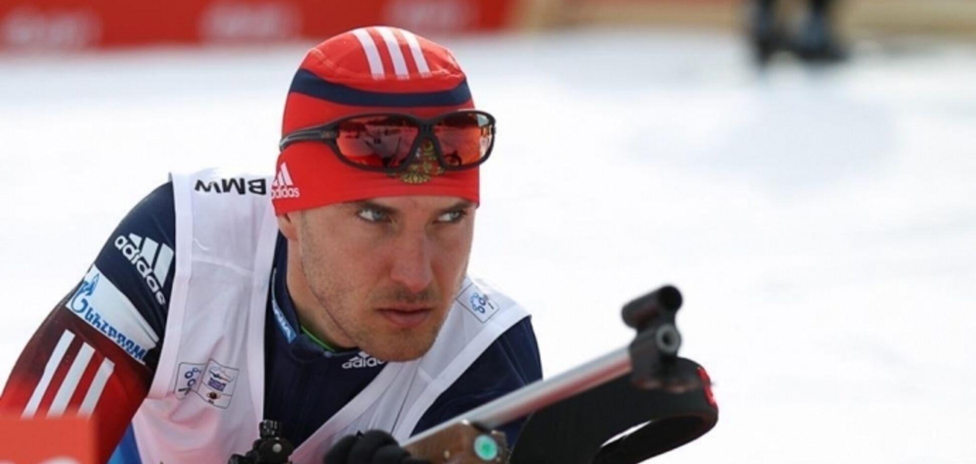 У стилі Путіна: російський біатлоніст осоромився на Кубку світу