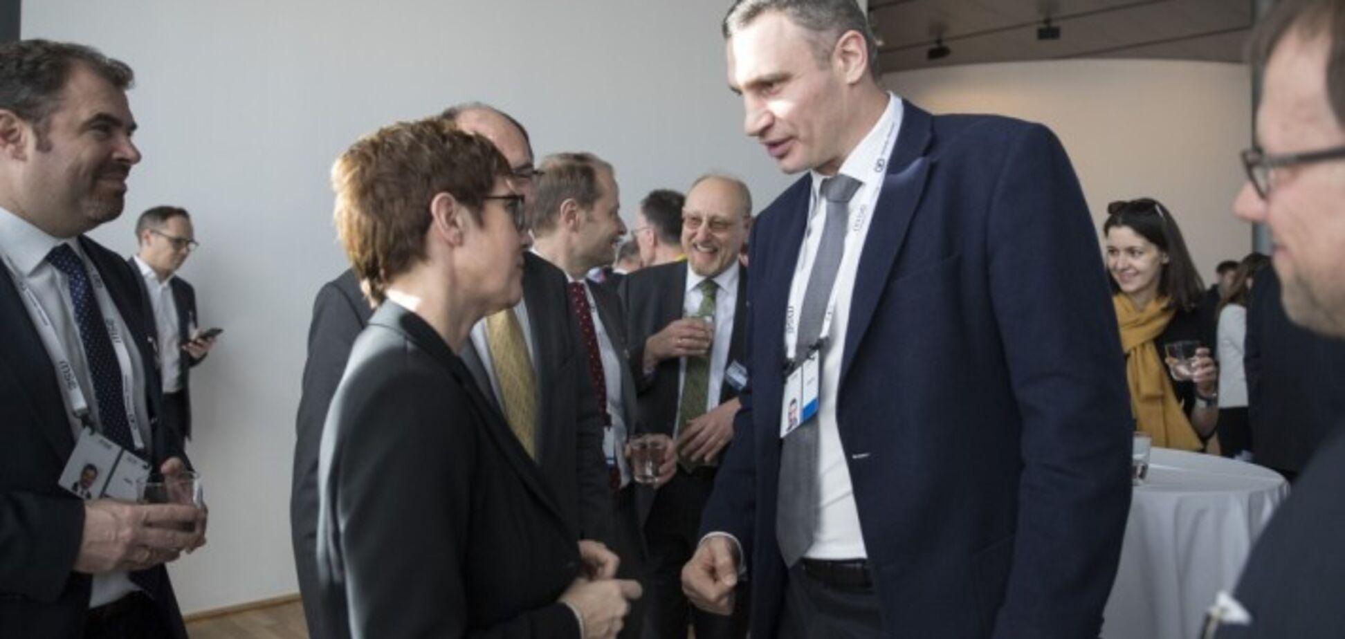 Кличко: перше питання, що лунає на зустрічах в Мюнхені - яким буде фінал президентських виборів в Україні