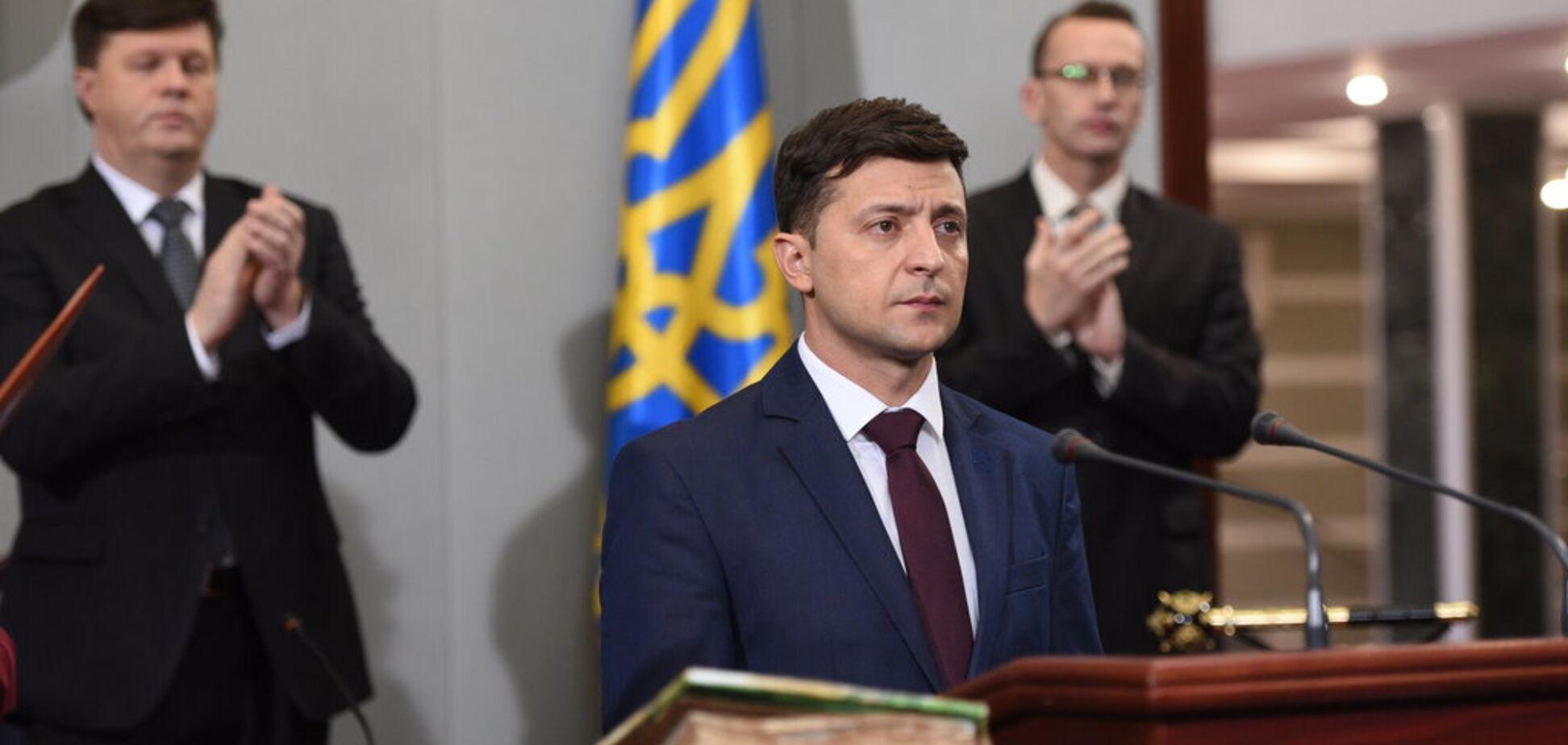 Зеленский  вызвал ажиотаж ''репетицией'' инаугурации: появились эксклюзивные фото