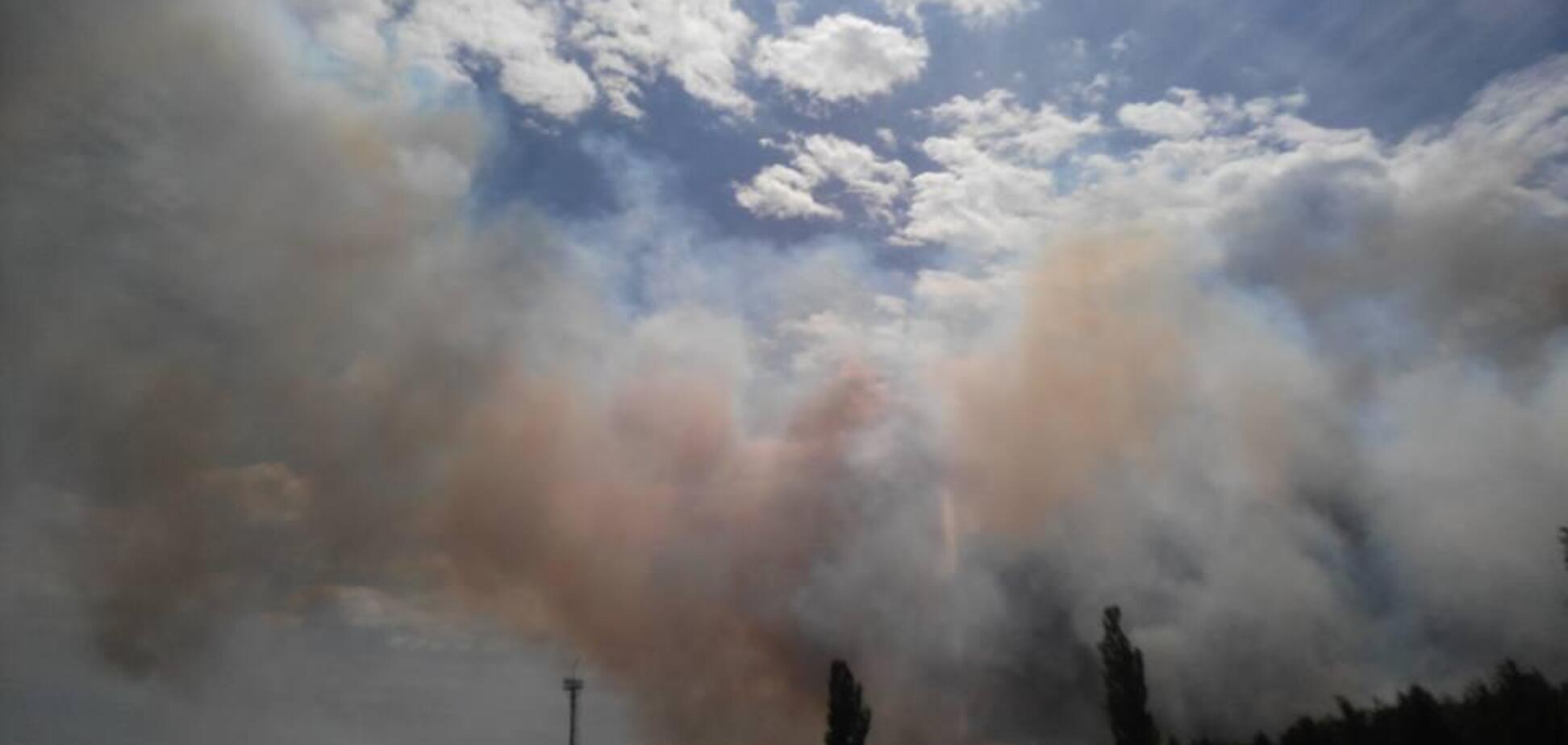 У Чорнобильській зоні відчуження спалахнула масштабна пожежа: перші подробиці