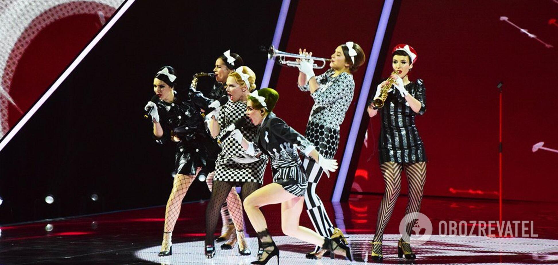Нацотбор на Евровидение: как выступил главный сюрприз полуфинала Freedom jazz