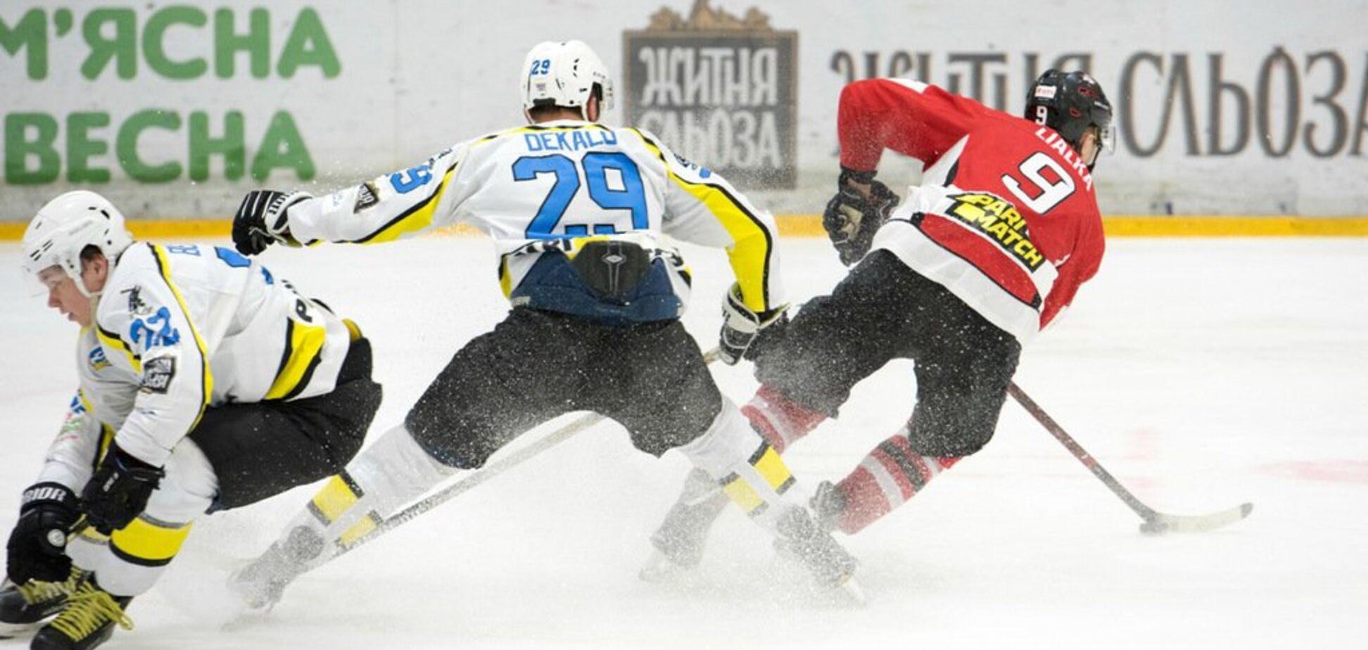 Обзор 36-го тура Украинской хоккейной лиги – Пари-Матч