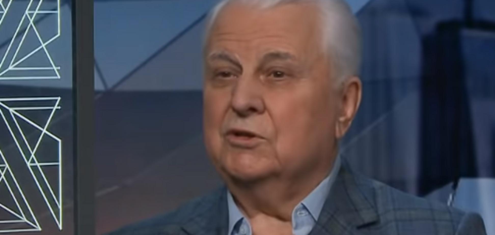 ''Потрібно поступитися'': Кравчук зробив скандальну заяву про Донбас