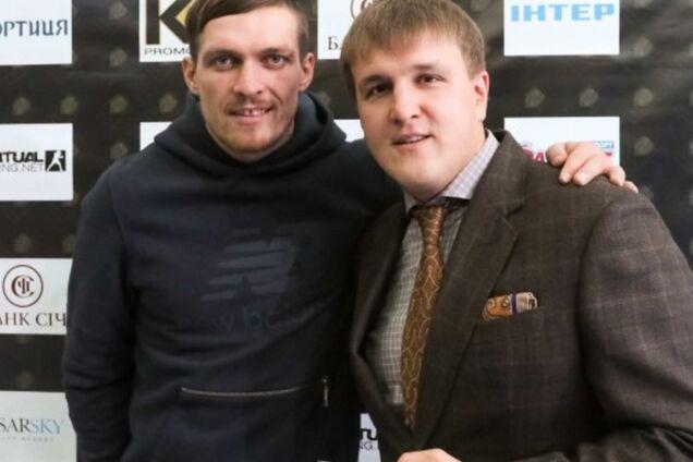 Олександр Усик і Олекcандр Красюк