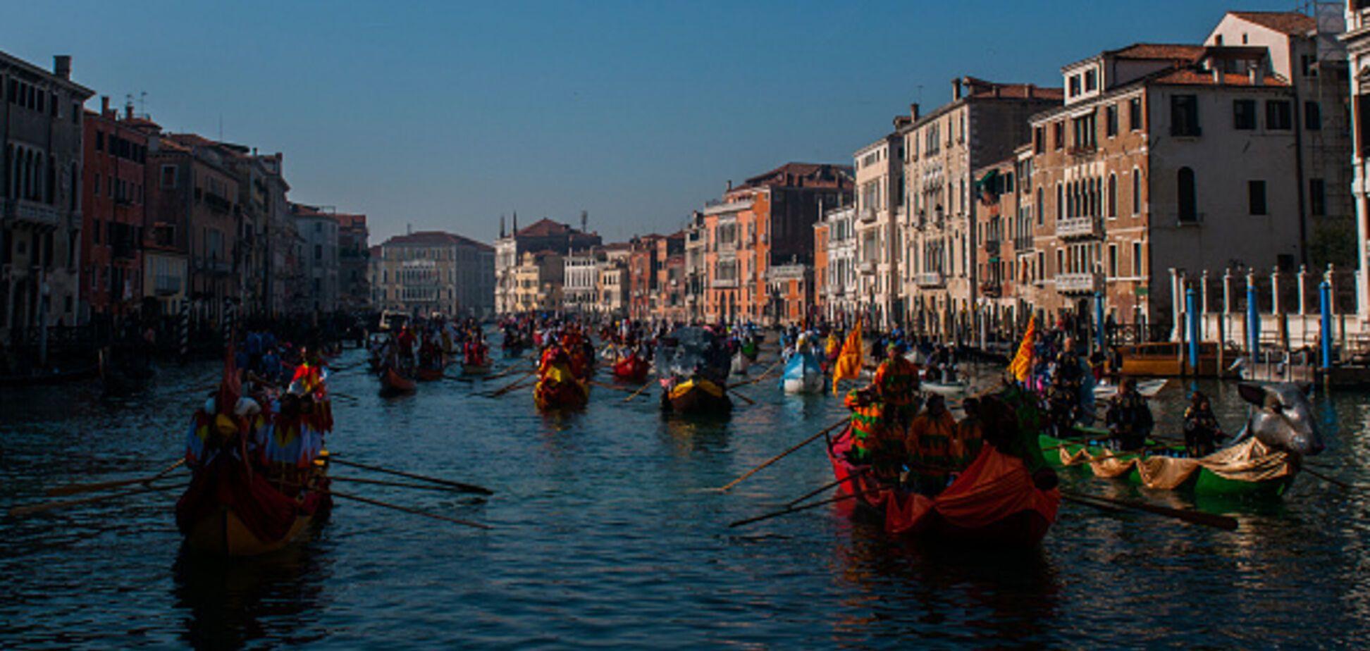 У Венеції почався знаменитий карнавал: яскраві фото