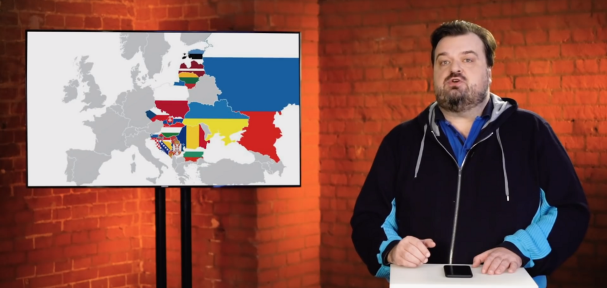 Спортивный журналист показал в эфире всем, чей Крым