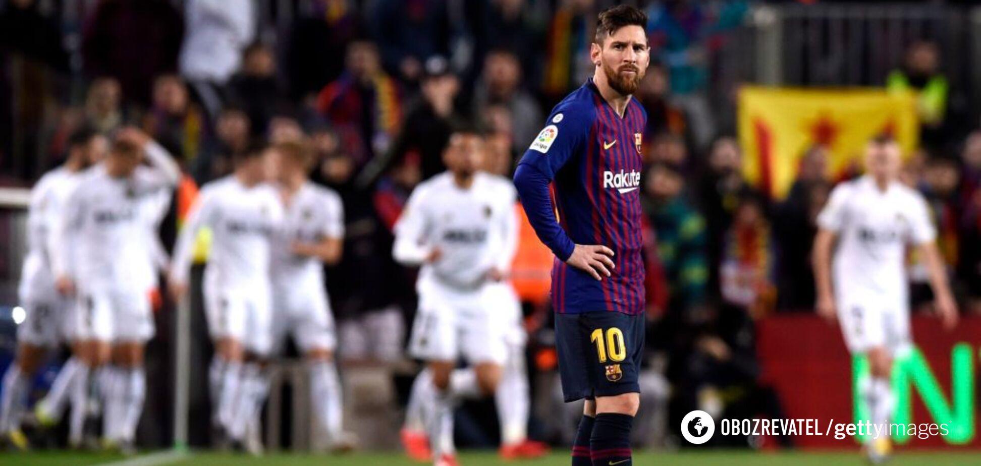 Дубль Мессі не врятував 'Барселону' від провалу в чемпіонаті Іспанії: відео голів