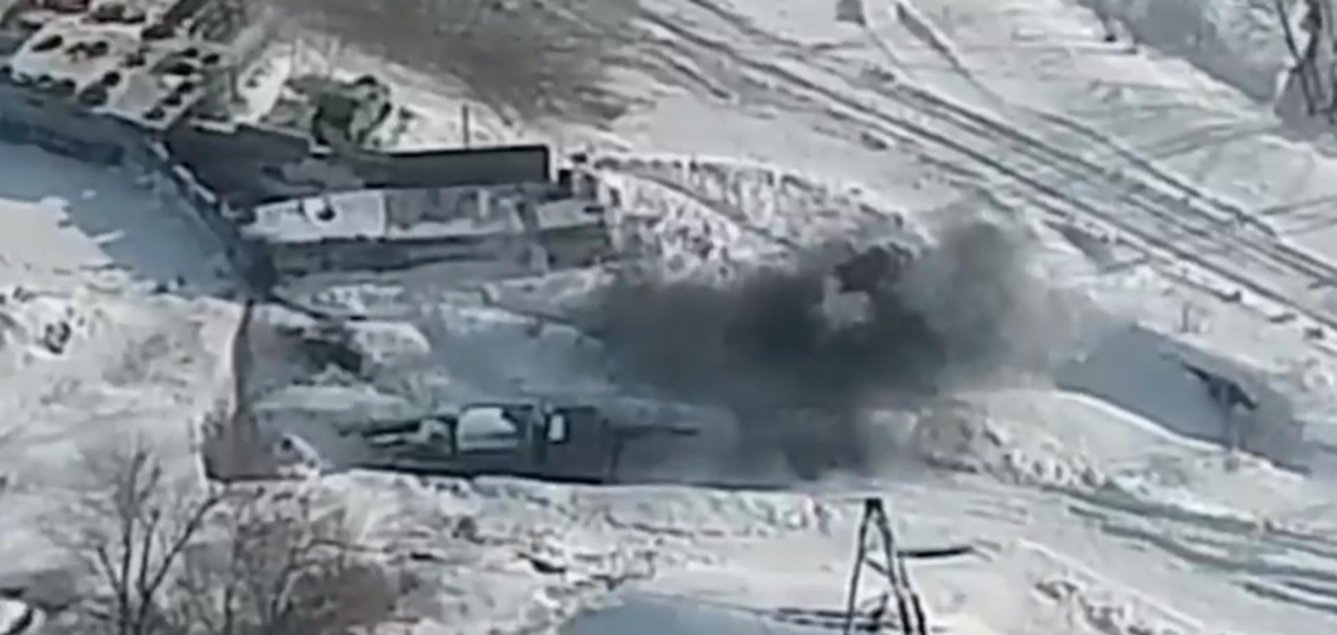ЗСУ знищили терористів на Донбасі: з'явилося відео потужного удару