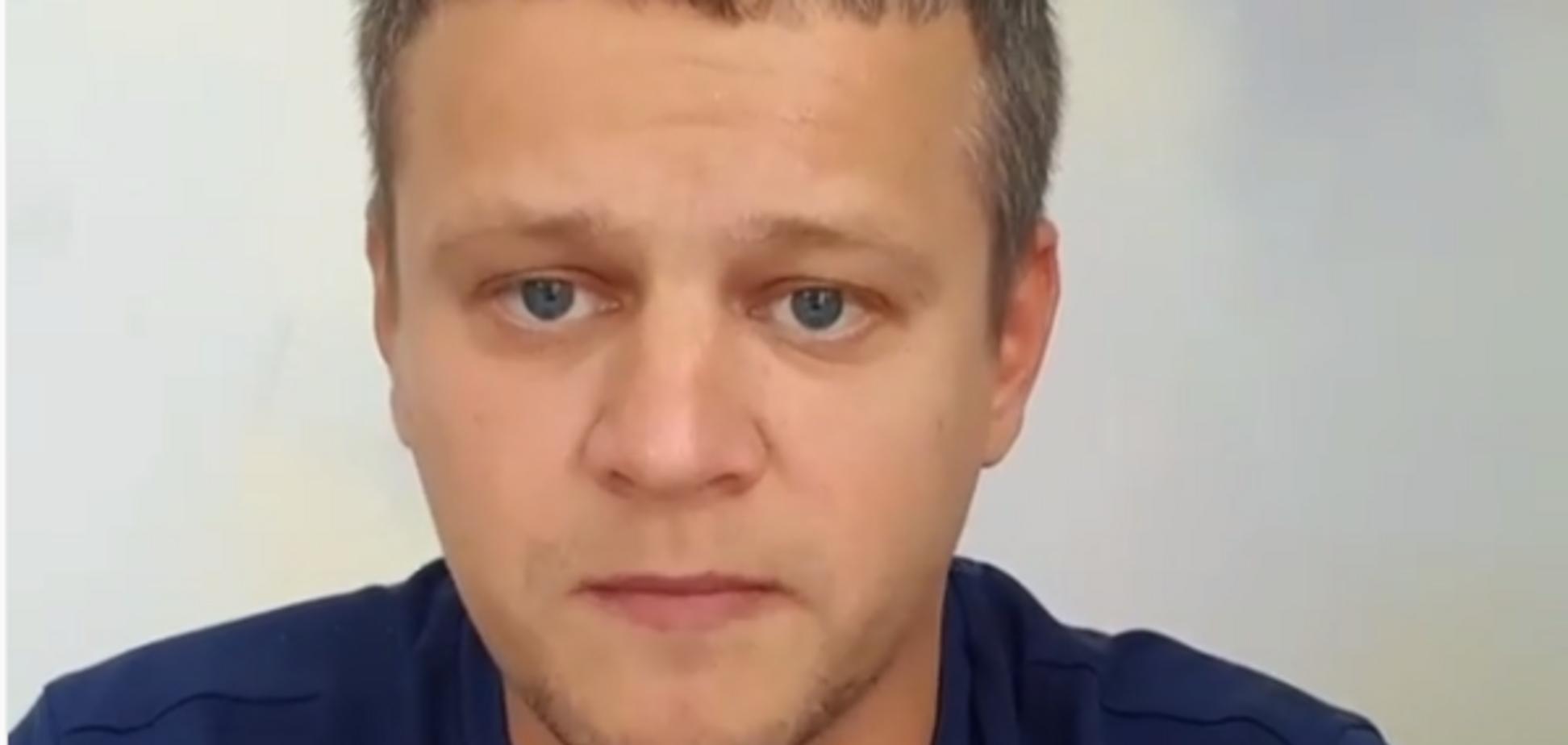 ''Мне противно!'' Потерявший семью при пожаре в Кемерово Востриков сбежал от Путина