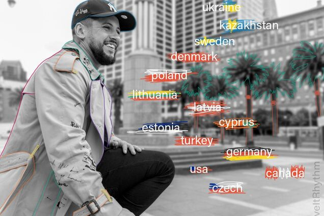 MONATIK задает мировой ритм: артист посетит с концертами более 20 стран