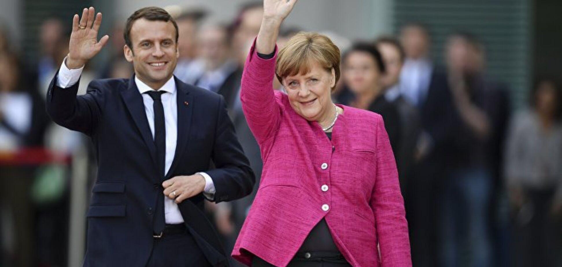 Макрон, Меркель і покійний Маккейн незаконно агітують за одного з кандидатів в президенти