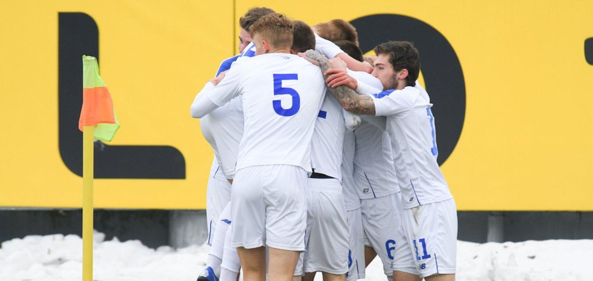 'Динамо' встановило рекорд у Юнацькій лізі УЄФА