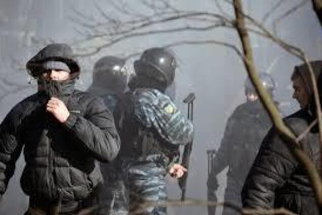 Иллюстрация. События на Майдане