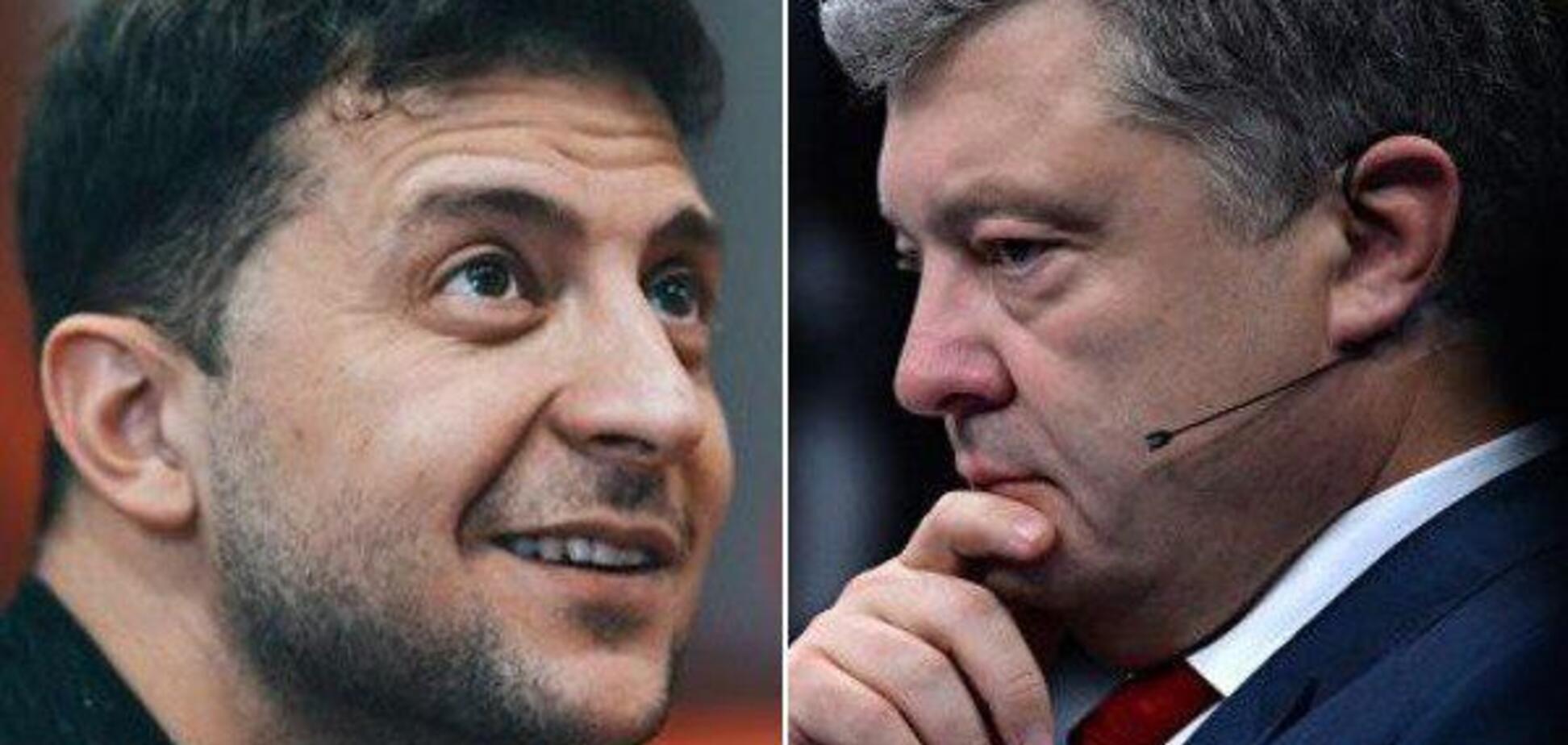 Выборы в Украине: Зеленский и Порошенко выходят во второй тур