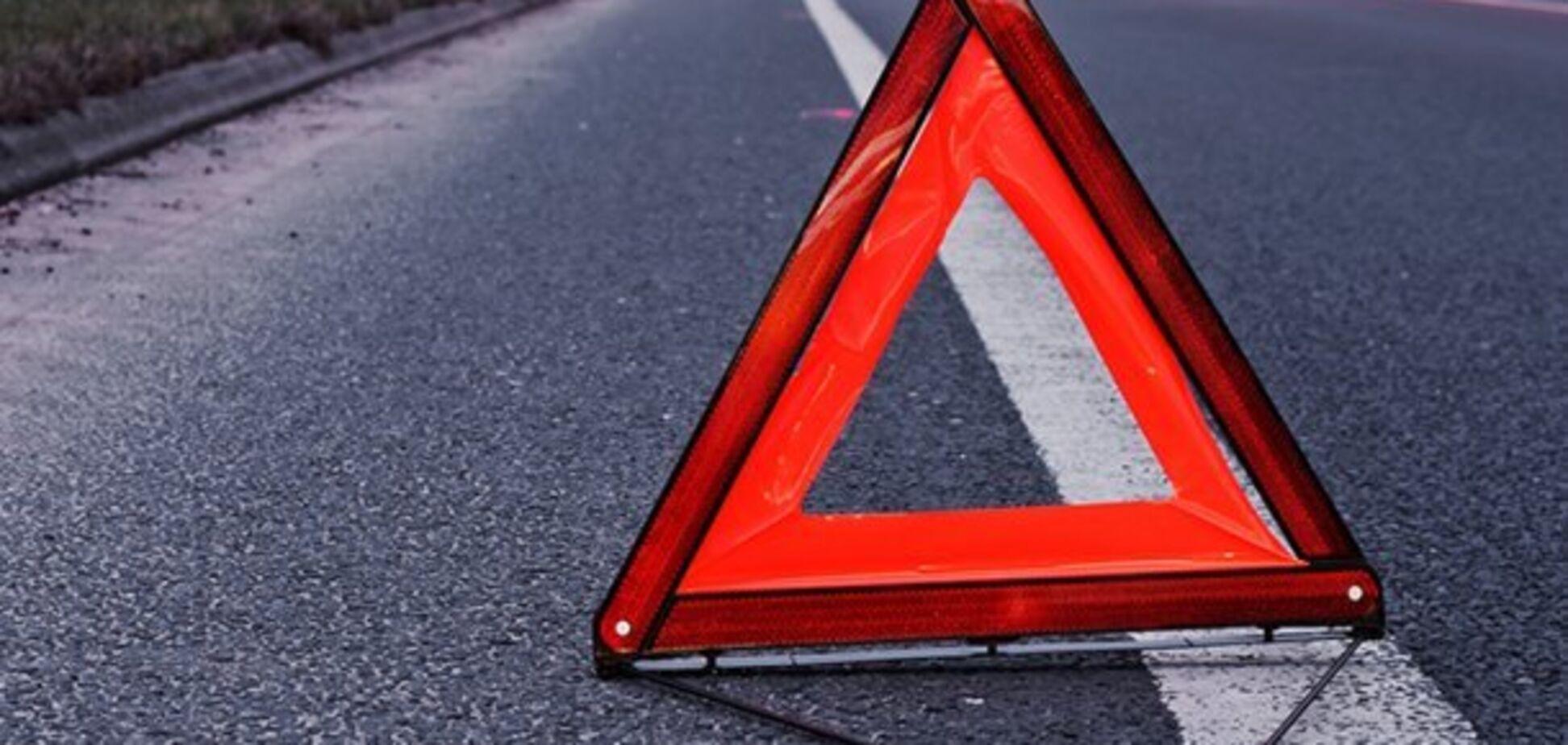 В Запорожской области автоледи сбила пешехода