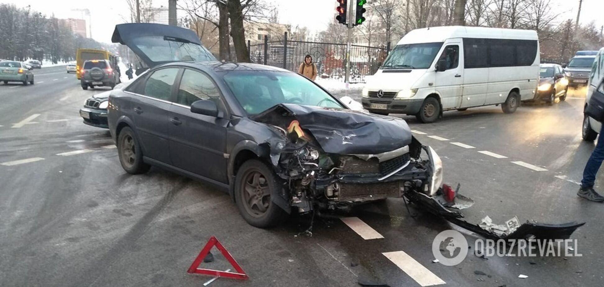 Война на дорогах: названы масштабы ДТП в Киеве