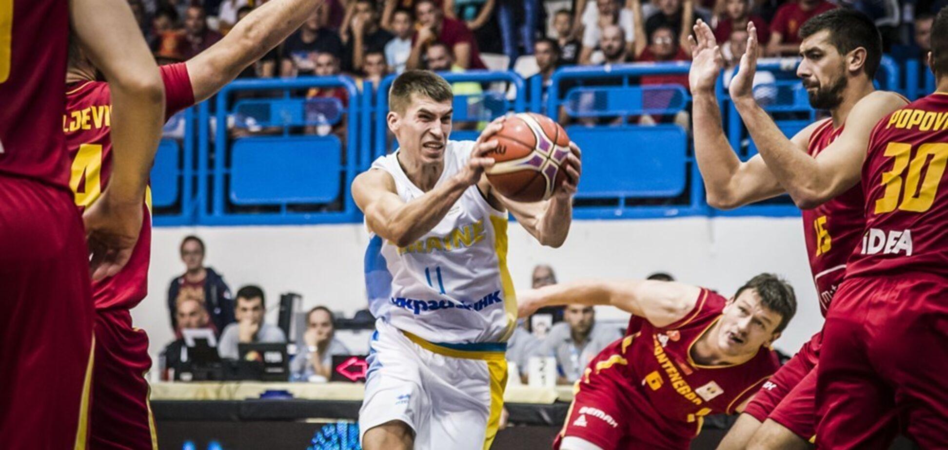Украина – Черногория – 74-76: подробности матча отбора КМ по баскетболу