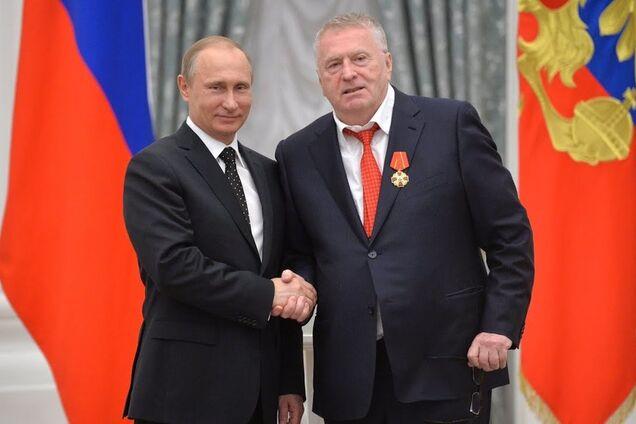Володимир Путін і Володимир Жириновський